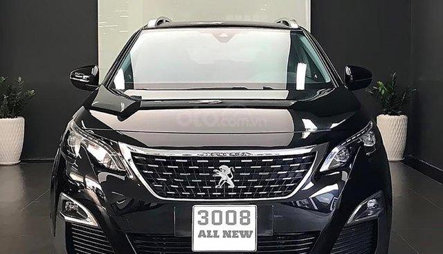 Bán Peugeot 3008 1.6 AT đời 2019, màu đen