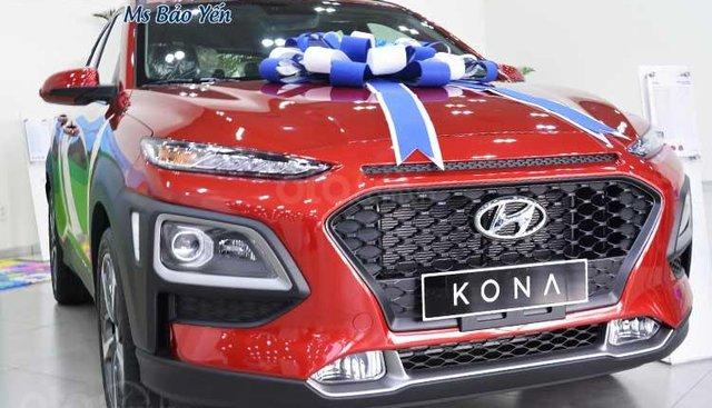 Hyundai Kona màu đỏ, xe giao ngay - Ưu đãi siêu hấp dẫn, hỗ trợ vay nhanh chóng