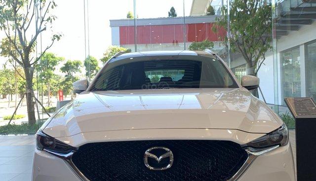 Bán ô tô Mazda CX 5 đời 2018 màu trắng, 839 triệu