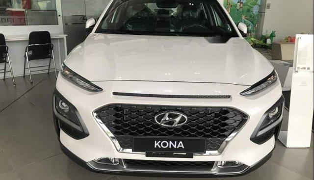 Bán ô tô Hyundai Kona Turbo đời 2019, màu trắng giá cạnh tranh