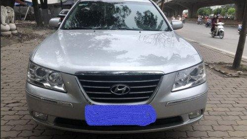 Bán Hyundai Sonata 2.0 AT đời 2009, màu bạc
