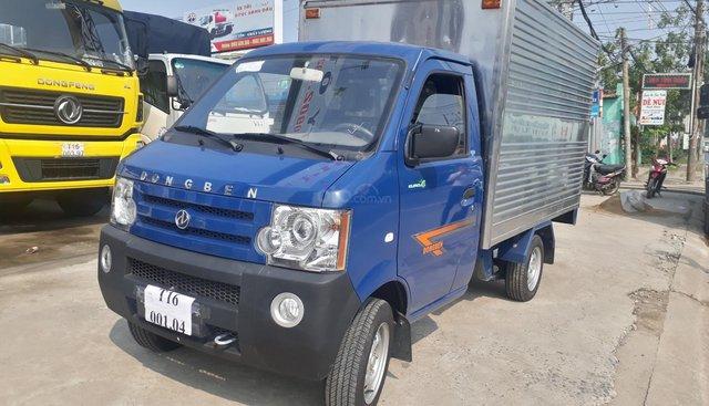 Bán xe Dongben 790kg thùng kín inox, đời 2018