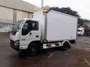 Bán xe tải Isuzu thùng composite dài 3m6 bửng nâng 1T4-1T9-2T4