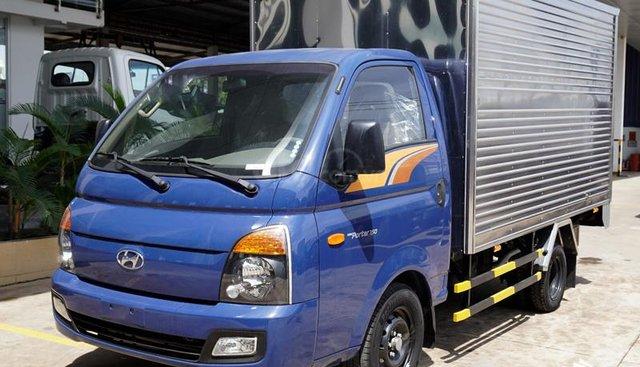 Bán Hyundai Porter 150 1.49T thùng kín, trả trước 45tr nhận xe