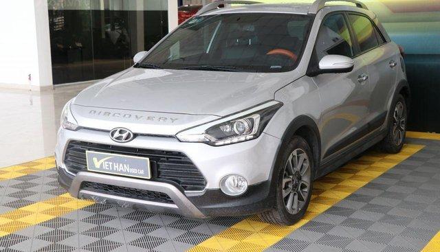 Cần bán Hyundai i20 Active 1.4AT năm 2015, màu bạc, nhập khẩu nguyên chiếc