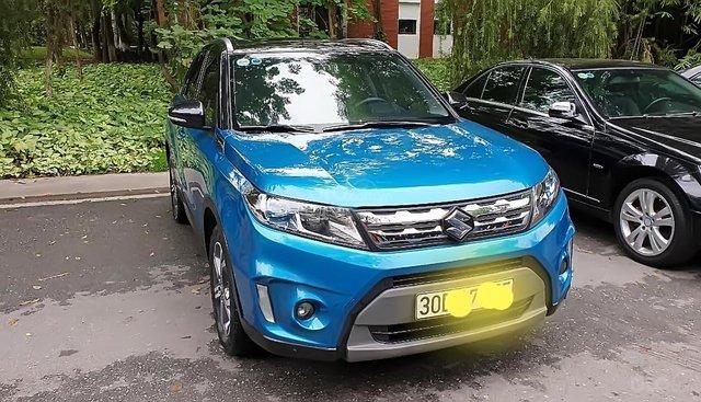 Bán ô tô Suzuki Vitara 1.6 AT năm sản xuất 2016, màu xanh lam, nhập khẩu