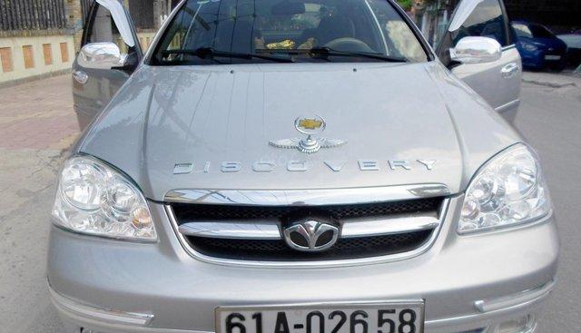 Daewoo Lacetti 1.6-EX cao cấp, xe mới tinh như hãng, cuối 2011, màu bạc, đi 70.000km