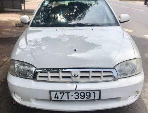 Bán Kia Spectra đời 2005, màu trắng, nhập khẩu nguyên chiếc, giá tốt