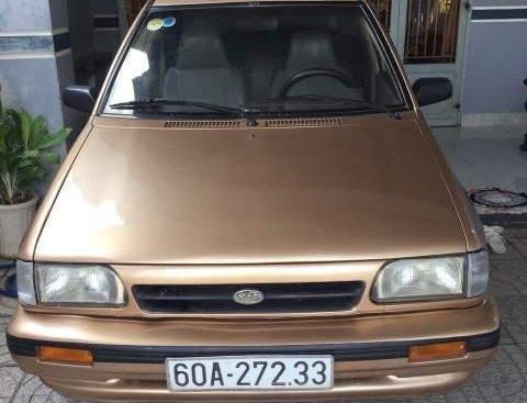 Bán Kia CD5 đời 2004, màu vàng xe gia đình