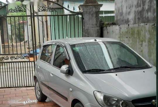 Bán Hyundai Click 1.4AT năm 2009, màu bạc, nhập khẩu nguyên chiếc