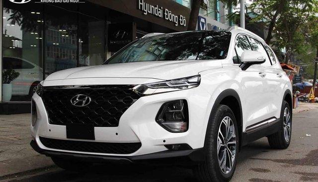 Hyundai Santa Fe 2019, full các bản từ 995tr, giao xe ngay, đủ màu, trả góp 90%