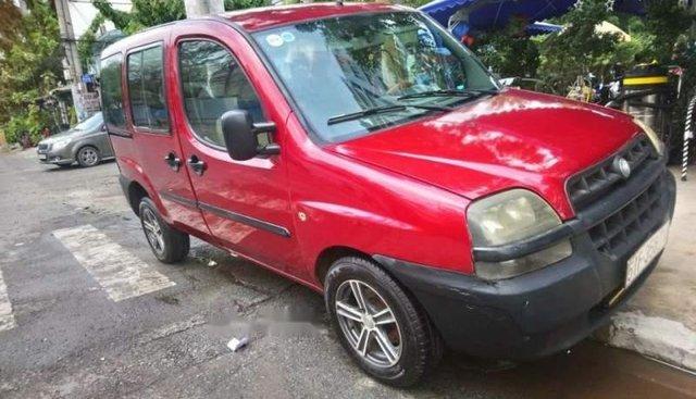 Cần bán gấp Fiat Doblo sản xuất 2003, màu đỏ, giá 65tr