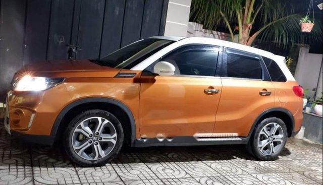 Bán xe Suzuki Vitara 2017, nhập khẩu, màu vàng cam