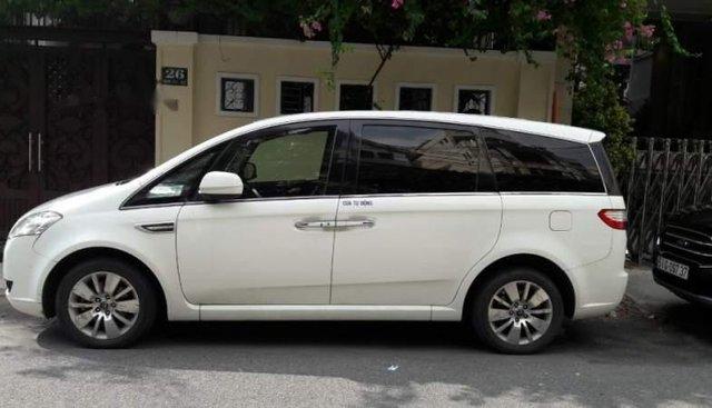 Bán Luxgen M7 2013, màu trắng, xe nhập, số tự động