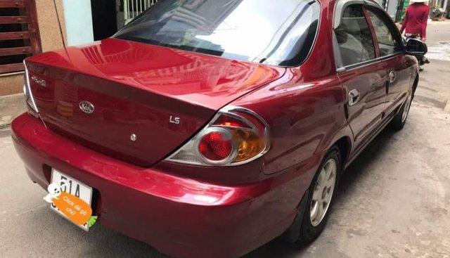 Bán xe Kia Spectra 1.6MT đời 2007, màu đỏ, xe nhập xe gia đình, giá cạnh tranh