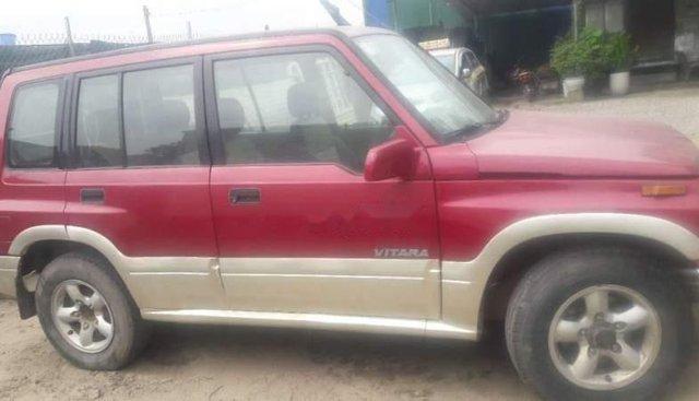 Bán ô tô Suzuki Vitara đời 2005, màu đỏ, 136tr