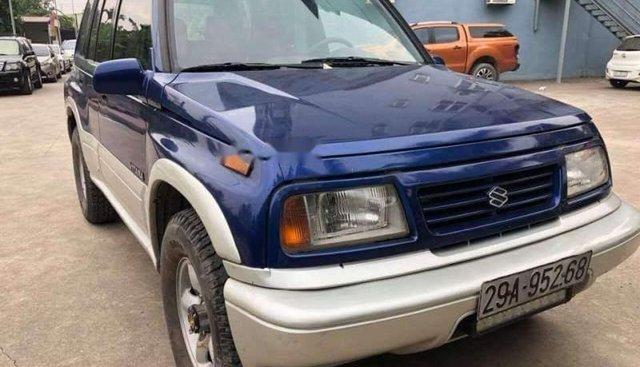 Bán xe Suzuki Vitara đời 2005, màu xanh lam, 2 cầu mạnh mẽ