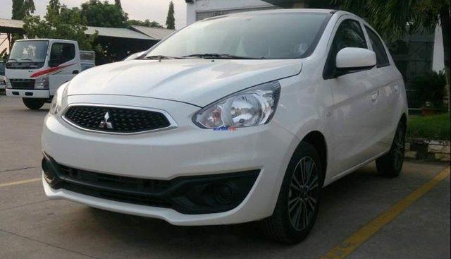 Bán xe Mitsubishi Mirage sản xuất năm 2019, màu trắng, xe nhập