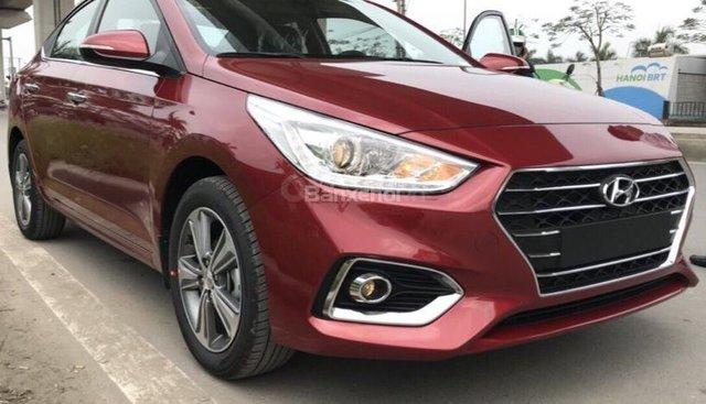 Hyundai Hà Đông hỗ trợ mua xe Hyundai ACCENT 2019 trọn gói chỉ với 125tr,xe đủ màu giao ngay trong ngày-LH 0981476777