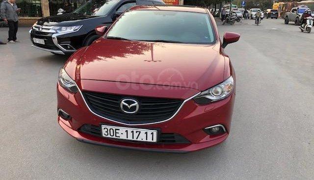 Bán Mazda 6 2.5L năm 2015 chính chủ, màu đỏ