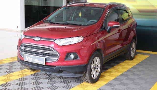 Bán Ford EcoSport 1.4AT sản xuất năm 2017, màu đỏ
