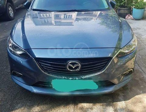 Cần bán xe Mazda 6 đời 2015, màu xanh lam