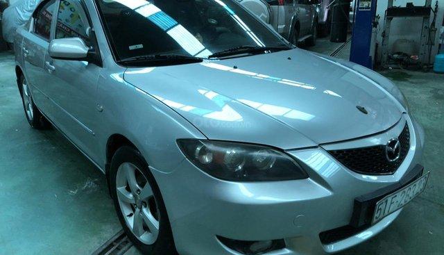 Bán Mazda 3 sản xuất năm 2004, màu bạc, số sàn
