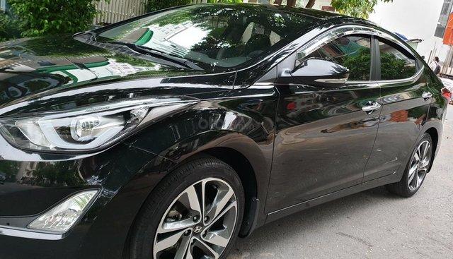 Bán Hyundai Elantra GLS 1.6 AT số tự động, đời T5/2016, SX 2015, màu đen, nhập khẩu, mới 90%