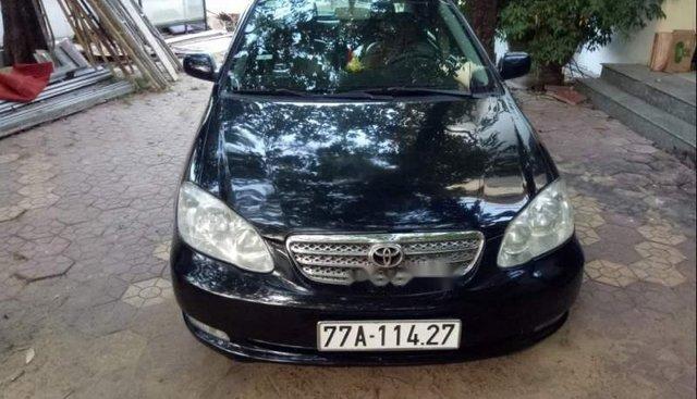 Bán Toyota Corolla altis 2003, màu đen, nhập khẩu