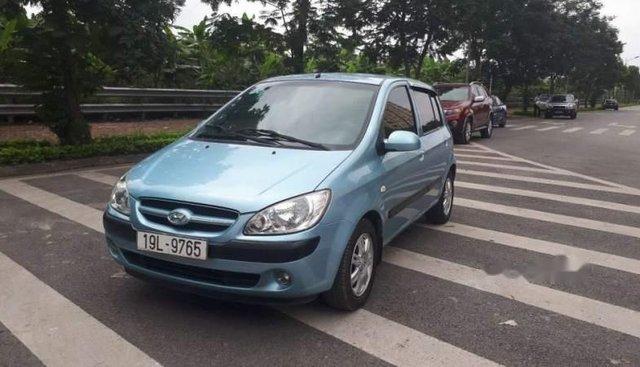Bán Hyundai Click đời 2007, màu xanh lam, nhập khẩu