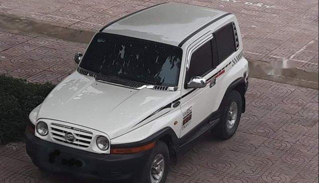 Bán Ssangyong Korando 2004, màu trắng, xe nhập