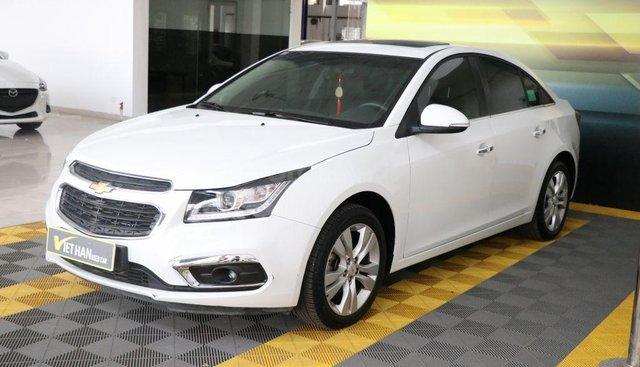 Bán xe Chevrolet Cruze LTZ sản xuất 2017, màu trắng