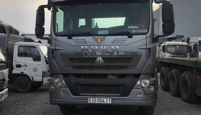 Bán xe Howo T5G 2015, màu xám (ghi), nhập khẩu