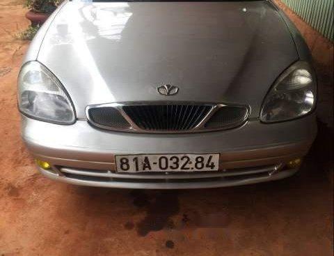 Cần bán gấp Daewoo Nubira đời 2003, màu bạc, xe bao đẹp