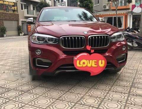 Bán BMW X6 năm 2015, màu đỏ, nhập khẩu