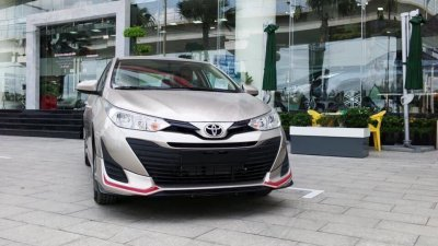 Toyota Vios 1.5G CVT đời 2019, giá 590tr