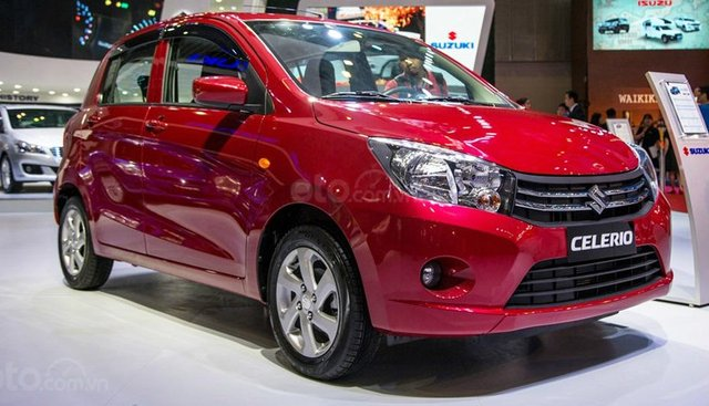"""Suzuki Celerio 2019 - Nhập khẩu Thái Lan - Ưu đãi tặng kèm """"BHVC + Bộ phụ kiện chính hãng Suzuki"""" duy nhất trong tháng"""