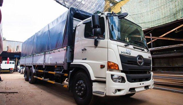 Bán xe tải Hino 2019 15 tấn thùng mui bạt 9.41m