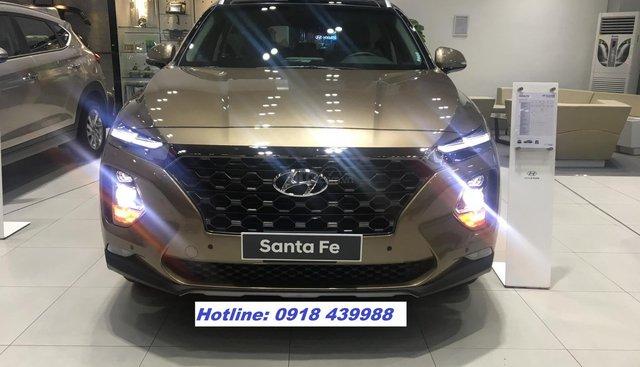 All New Santafe 2019 bản full, 299tr giao xe ngay, LH 0918439988