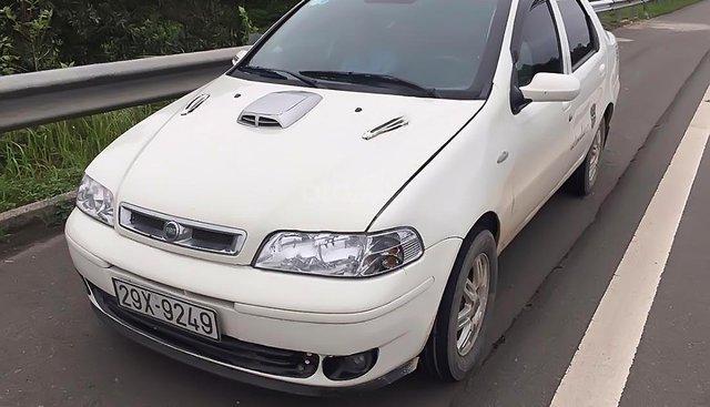 Cần bán xe Fiat Albea 1.3 2005, màu trắng phom rất thể thao