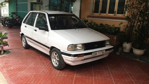 Cần bán lại xe Kia CD5 1.1 MT đời 2002, màu trắng