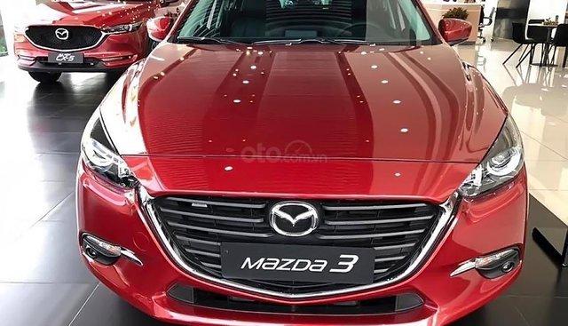 Cần bán xe Mazda 3 1.5 AT đời 2018, màu đỏ, ngôn ngữ thiết kế KoDo và công nghệ Skyactive