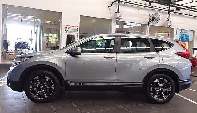 Bán Honda CR V sản xuất năm 2019, màu bạc, nhập khẩu
