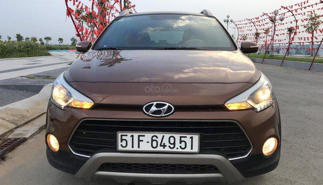 Bán Hyundai i20 Active 1.4AT màu nâu titan, nhập Ấn Độ 2015 ĐK 2016