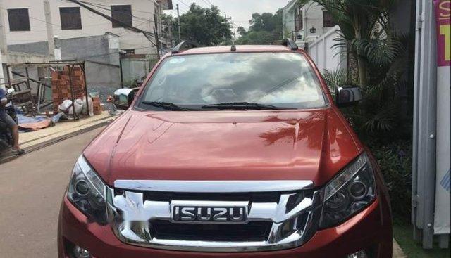 Bán Isuzu Dmax đời 2015, màu đỏ, xe nhập số sàn, giá 465tr