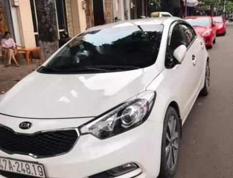 Bán Kia K3 sản xuất 2015, màu trắng, xe đẹp