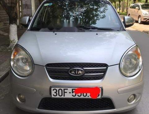 Cần bán lại xe Kia Morning SLX đời 2008, màu bạc, nhập khẩu nguyên chiếc