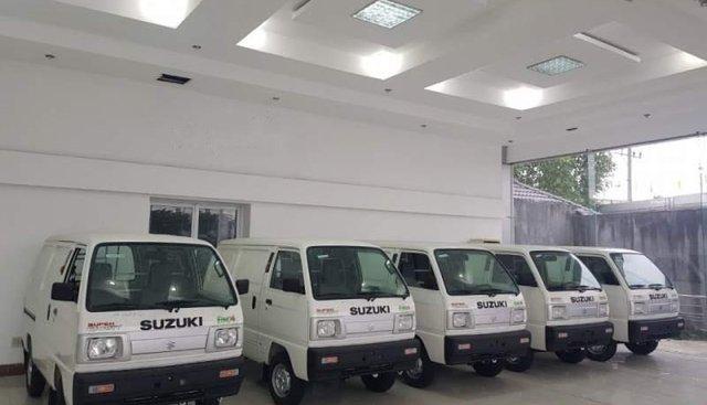 Bán Suzuki Super Carry Van năm 2019, màu trắng, xe nhập
