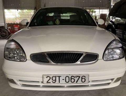 Bán Daewoo Nubira II 1.6 sản xuất năm 2003, màu trắng, nhập khẩu