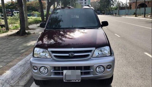Bán Daihatsu Terios 1.3 2005, màu đỏ, nhập khẩu, số sàn